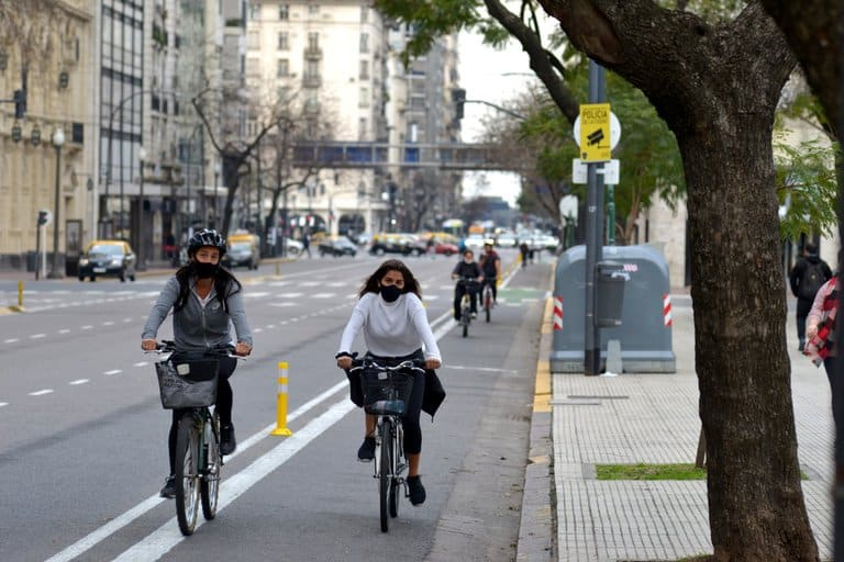 Buenos Aires: A City With More Women Cycling