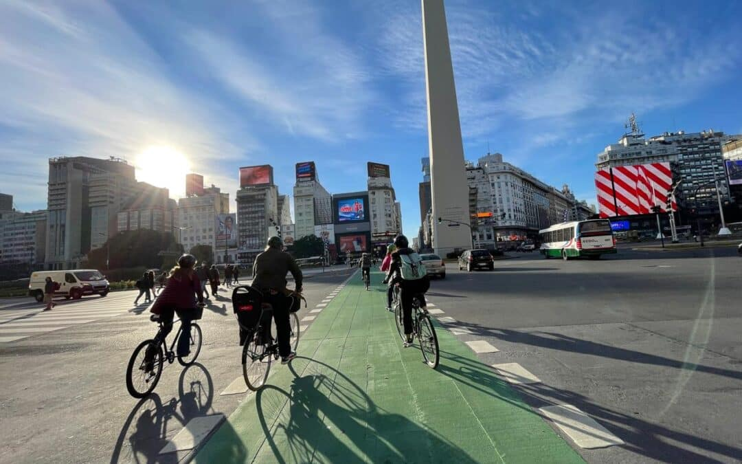 Buenos Aires's Two-Wheeled Revolution